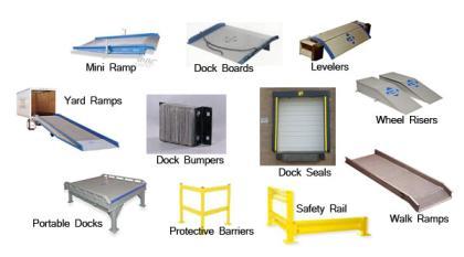 Strip Doors Pvc Plastic Hanging Doors Amp Loading Dock