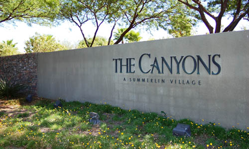 The Canyons at Summerlin Homes for Sale
