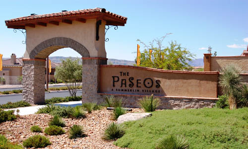 The Paseos at Summerlin Homes for Sale
