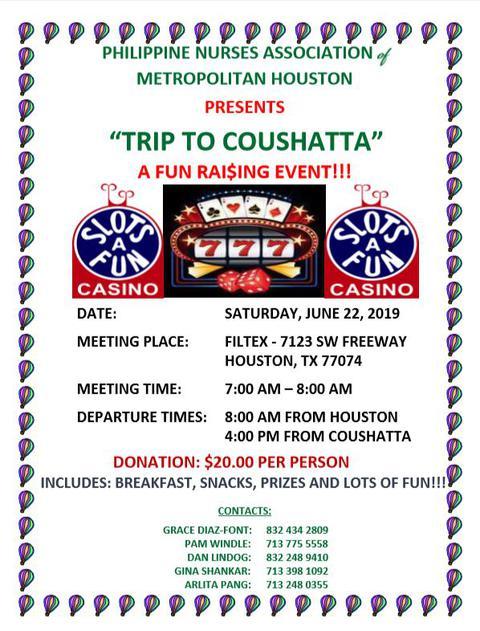 Coushatta Fundraising Event