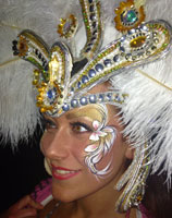 London carnival make up for adults