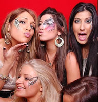 Make up hen party in London