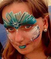 Professional facepainting in London