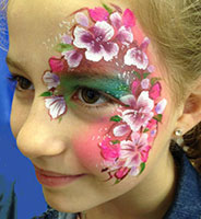 Facepainter for London birthday parties