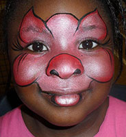 Make up for childs fancy dress event