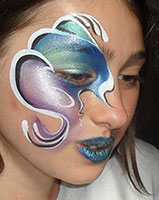 Kids facepainting for London events