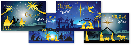 12 Christmas Cards.