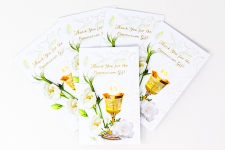 12 Communion Thank You Cards