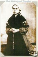 1864 Photo St Bernadette Soubirous.