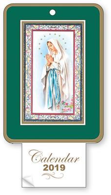 2019 Calendar - Our Lady of Lourdes.
