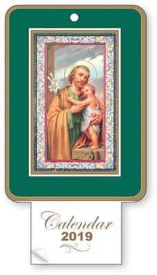2019 Calendar - Saint Joseph.