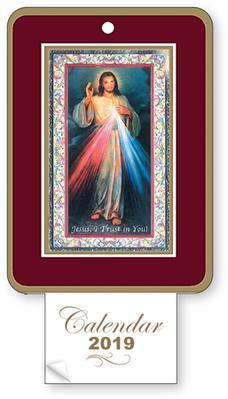 2019 Calendar - Divine Mercy.