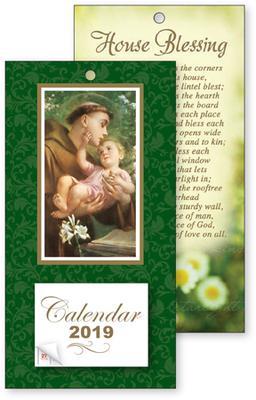 2019 St. Anthony Standing Calendar.