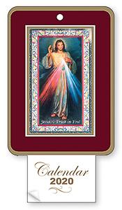 2020 Calendar - Divine Mercy.