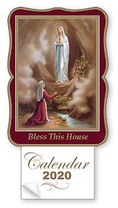 Lourdes 2020 Calendar.
