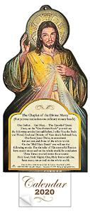 2020 Calendar Divine Mercy.