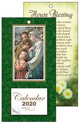 2020 Holy Family Standing Calendar.