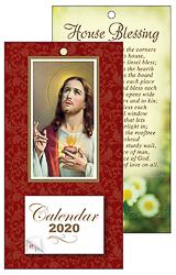 2020 Sacred Heart of Jesus Standing Calendar.