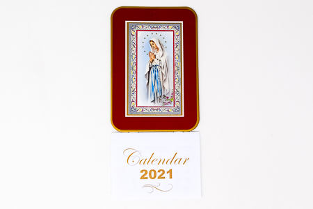 2021 Calendar - Our Lady of Lourdes.