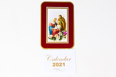 2021 Calendar Holy Family.