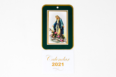 2021 Calendar Miraculous.