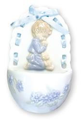 Praying Baby Holy Water Font.