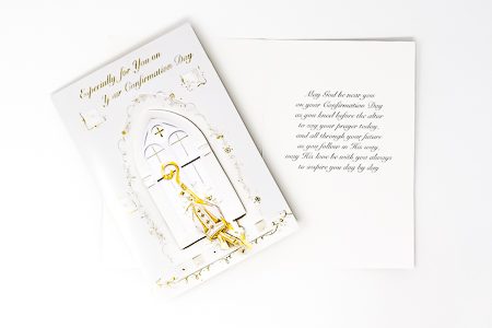 Symbolic Confirmation Card.