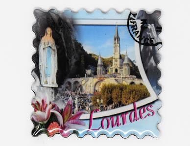 Lourdes Magnet.