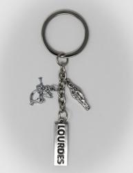 Lourdes Key Ring.