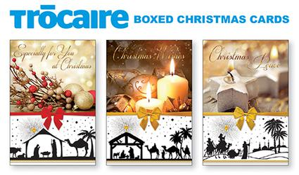 Candle Christmas Cards Boxed - Tr�caire.