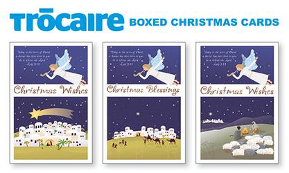 Angel Christmas Cards Boxed - Tr�caire.