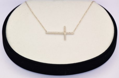 925 Cross Necklace.
