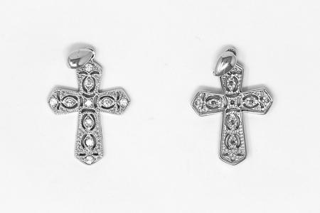 Sterling Silver Cross.