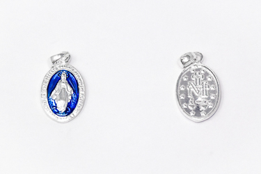 Sterling Silver Miraculous Medal.