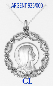 925 Our Lady of Lourdes Necklace.