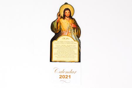2021 Calendar Divine Mercy.