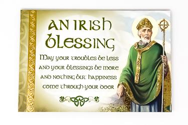 Pewter Pocket Token Saint Patrick