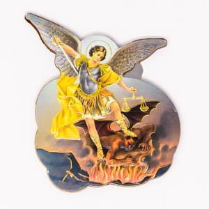 Archange Saint Michel Magnet.