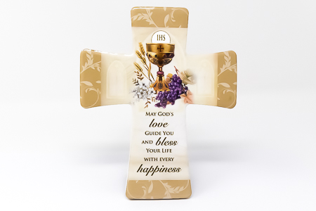 First Holy Communion Porcelain Cross.