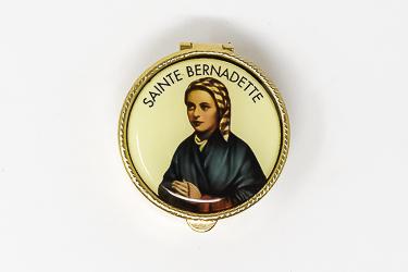 Saint Bernadette Pill Box.