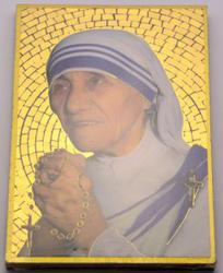 Mother Teresa Mosaic Wall Plaque..
