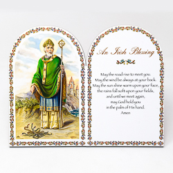 An Irish Blessing Prayer Plaque.