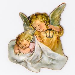 Angel with Lantern Magnet.