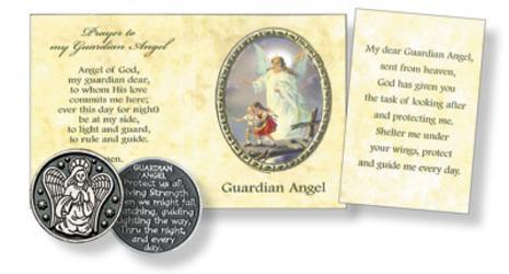 Pocket Token & Booklet - Guardian Angel