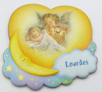 Angel & Lantern Wall Plaque.