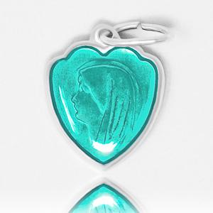 Aqua Heart Lourdes Pendant.