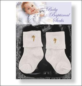 Baby Baptismal Socks.