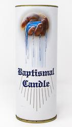 Baby Baptismal Candle