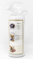 Baptismal Baby Candle.