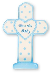 This Baby Cross For a Boy.